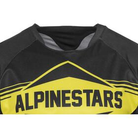 Alpinestars Mesa Jersey korte mouwen Heren, black yellow